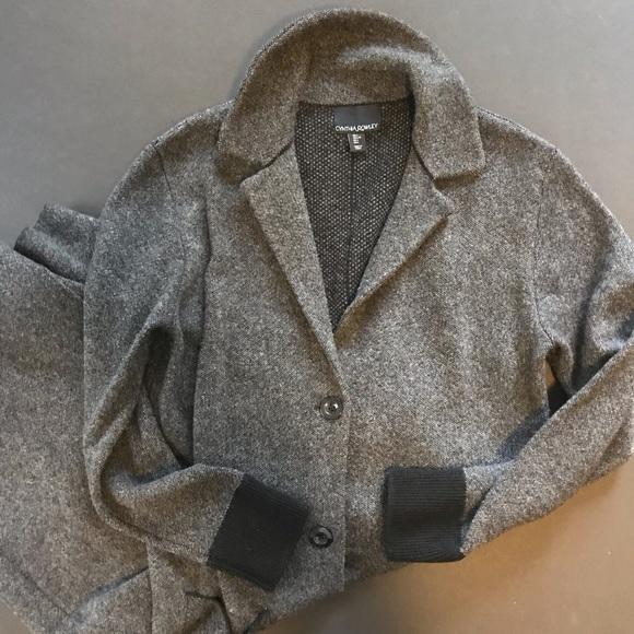 Cynthia Rowley Jackets & Blazers - Cynthia Rowley wool and cashmere overcoat